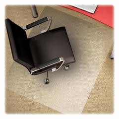 Chairmat For Office Chair Floor - Clear - DEFCM11442FPC
