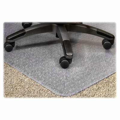 Chairmat For Office Chair Floor - Clear - LLR25757