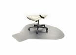 Chairmat For Office Chair Floor - Clear - LLR69156
