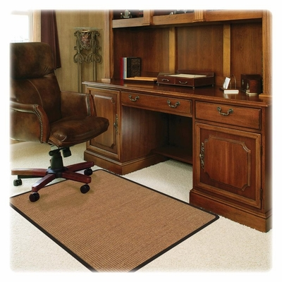 Chairmat For Office Chair Floor - Light Brown - DEFCM13242CBS