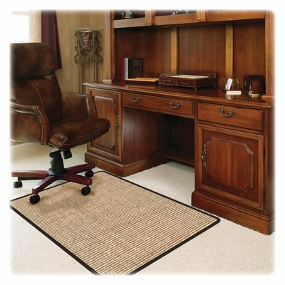 Chairmat For Office Chair Floor - Tan - DEFCM13242CWJ