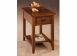 Chairside Table with Picture Framed Top - 1032-7