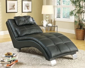Chaise with Sophisticated Modern Look - 550075