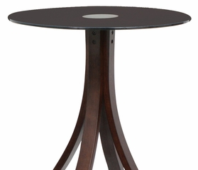 Champagne Bar Table Wenge - LumiSource - BT-CHMPGN
