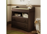 Changing Table in espresso - Angel - South Shore Furniture - 3559331