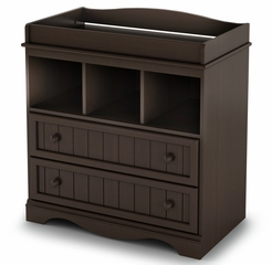 Changing Table in Espresso - Savannah - South Shore Furniture - 3519330