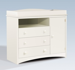 Changing Table in Pure White - South Shore Furniture - 2280331