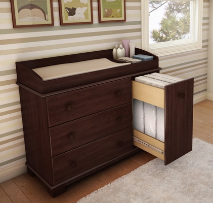 Changing Table in Royal Cherry - Precious - South Shore Furniture - 3346333