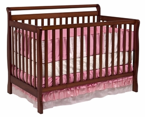 Charleston 4-in-1 Convertible Crib - DaVinci Furniture - M2601