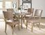 Charleston 5-Piece Round Wood Dining Set with Parson Chairs - Hillsdale Furniture - 4670DTBWC4