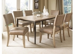 Charleston 7-Piece Rectangle Dining Set with Parson Chairs - Hillsdale Furniture - 4670DTBRC47