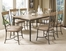 Charleston 7-Piece Rectangle Dining Set with X Back Chairs - Hillsdale Furniture - 4670DTBRC27