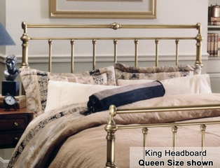 Charleston Eastern King Size Metal Headboard - 186-66