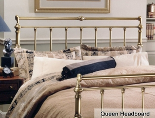 Charleston Queen Size Metal Headboard - 186-50