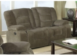Charlie Casual Styled Double Reclining Love Seat - 600992