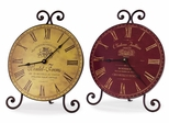 Chateau Table Clocks (Set of 2) - IMAX - 2509-2