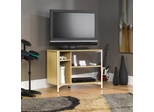 Chatter Panel TV Stand Rice / White Oak - Sauder Furniture - 411270