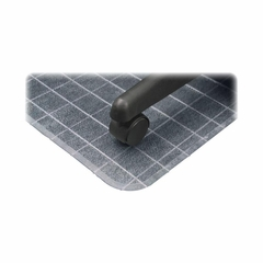 Checkered Chairmats - Clear - DEFCM83233