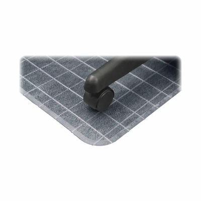 Checkered Chairmats - Clear - DEFCM83443F