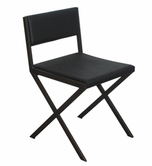 Chee Dining Chairs in Black (Set of 2) - Bellini Modern Living - CHEE-BS-BLK