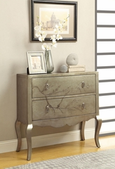 Cherry Blossom Tree Cabinet in Golden Silver - 950209