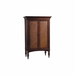 Cherry Hill Wine and Bar Cabinet - Distressed - Howard Miller