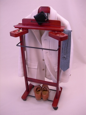 Cherry Valet Stand For Clothes - Proman Suit Valet - VL16204