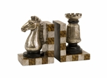 Chess Bookends (Set of 2) - IMAX - 53006-2