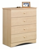 Chest - 4 Drawer Chest - Alegria Collection - Nexera Furniture - 5604