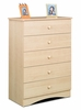 Chest - 5 Drawer Chest - Alegria Collection - Nexera Furniture - 5605