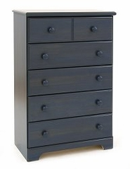 Chest - 5-Drawer Chest in Blueberry - South Shore Furniture - 3294035