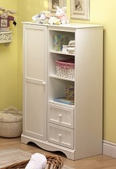 Chest - Door Chest in Pure White - South Shore Furniture - 3580038