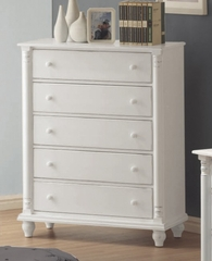 Chest - Kayla Chest in White - Coaster - 201185