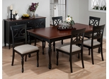Chesterfield Tavern Rectangle 7PC Table and Scroll Chair Set - 293-76