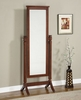 "Cheval Mirror - Contemporary ""Merlot"" - Powell Furniture - 383-773"