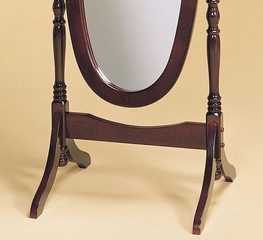 "Cheval Mirror - ""Heirloom Cherry"" - Powell Furniture - 978"