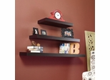 "Chicago Floating Shelf 10"" Espresso - Holly and Martin"