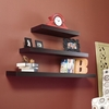 "Chicago Floating Shelf 24"" Espresso - Holly and Martin"