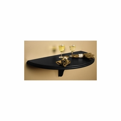 Chicago Wall Table in Black - American Hertiage - AH-610005BLK