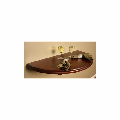 Chicago Wall Table in Brandy - American Hertiage - AH-610005BR
