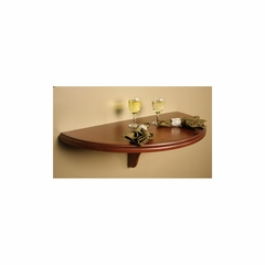 Chicago Wall Table in Suede - American Hertiage - AH-610005SD