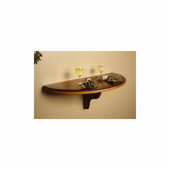 Chicago Wall Table in Vintage Oak - American Hertiage - AH-610005VO