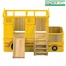 Child Playhouse - Bus Playtime Loft - Guidecraft - G82101
