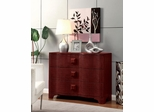 Chili Red Cabinet with 3 Drawers - 950204