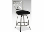 Chintaly Swivel Counter Stool With Memory Return (Set of 2) - Chintaly Furniture - AUDREY-CS