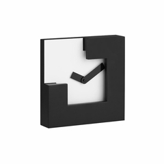 Chira Black Table Clock - Zuo
