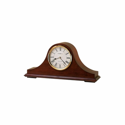 Christopher Mantel Clock in Windsor Cherry - Howard Miller