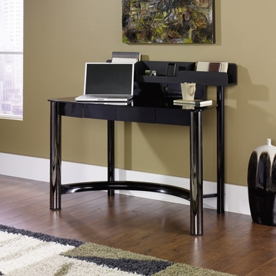 Chroma Desk Black / Black - Sauder Furniture - 410268