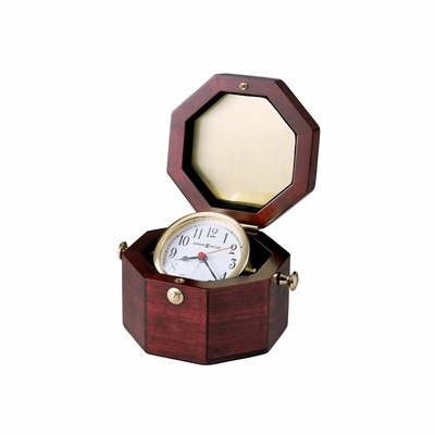 Chronometer Alarm Clock in Cherry - Howard Miller