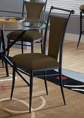 Cierra Dining Chairs in Bear (Brown) Fabric (Set of 2) - Hillsdale Furniture - 4592-808